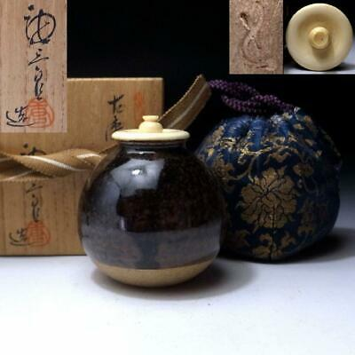 PD13: Japanese Tea caddy by Great Human Cultural Treasure, Tosaburo Kato