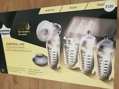 Tommee Tipper Electric Breast Pump And Starter Kit