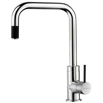 New Methven Urban Pull Out Kitchen Sink Mixer Tap Faucet Chrome Black 01-0325