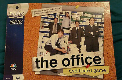 The Office DVD Board Game Pressman 2008 Complete Trivia Party