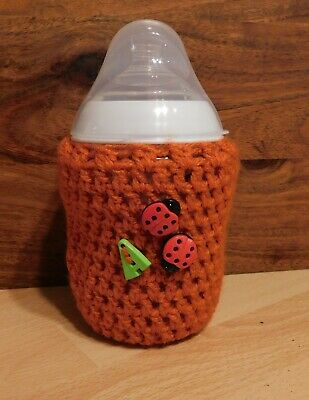 CROCHET BABY BOTTLE COVER HANDMADE TOMMEE TIPPEE 9oz 260ml