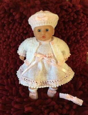Dolls Dress Clothes Outfit To Fit my first baby annabell 36cm