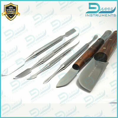 Dental Plaster Knife, Fahen, Cement Spatula, Zahle, Beale, Lecron Laboratory Kit
