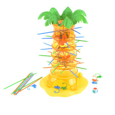1 Set Falling Tumbling Monkey Board Game Toy Child Kids Party Funny Sticks D_X