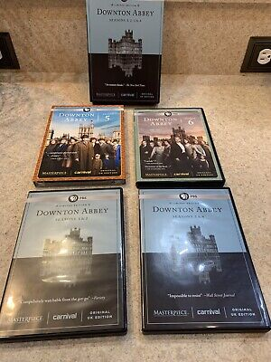Downton Abbey: The Complete Series (DVD, 2016) Season 5 Has Never Opened.
