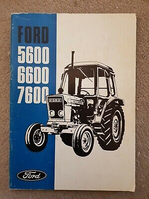 Ford 5600 6600 7600 Tractor Operators Manual 1976