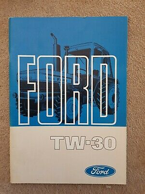 Ford Tw30 Tractor Operators Manual
