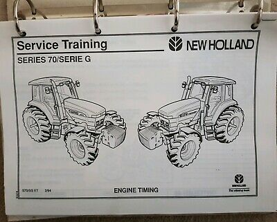 New Holland 70 Series Tractor Service Training Manual