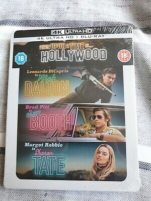 Once Upon A Time In Hollywood Steelbook 4K UHD+Blu Ray
