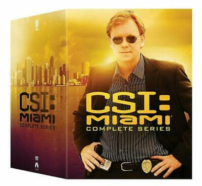 CSI MIAMI :THE COMPLETE TV SERIES New 65 DVD Set Seasons 1 -10