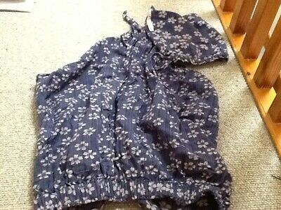 Faye & Lou Breast Feeding, Nursing, Butterfly Cover Up, Blue Floral Design