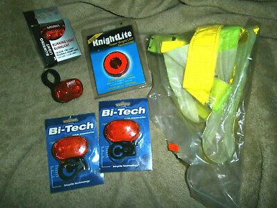 JOB LOT - assorteNEW CYCLE LIGHTS - bargain clearance from shop that closed down