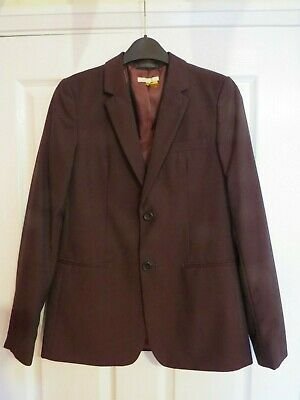 John Lewis Heirloom Collection Boys' Party Jacket, Burgundy age 11 blazer