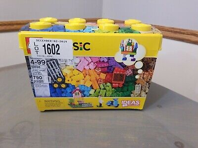 LEGO Classic Large Creative Brick Box 10698 Build Your Own Creative Toys, Kids