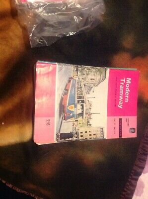 Modern Tramway And Light Railway Review Mags Complete Sets 1964 - 1967