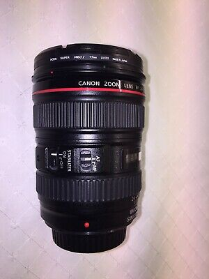 Canon L-series 24-105mm F/4 L IS USM Lens. Postage Cost £10 GBP Special Delivery