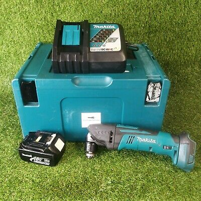 Makita DTM50 18v li-ion cordless multi tool set . GWO . FREE P&P '2126