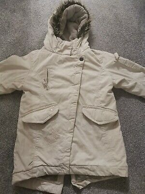 Girls Hooded Winter Coat Age 3-4 Yrs Next