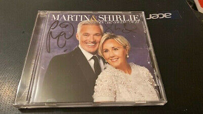 Martin And Shirlie Kemp---The Swing Of It ---Autographed--Rare---Uk Cd Album