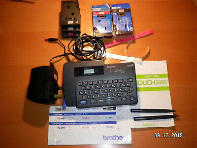 Brother P-Touch 3000 Label Printer + 2 new cassettes