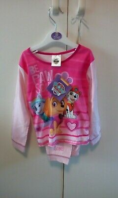 Girls age 18/24months paw patrol pale pink pyjamas set New with tags.