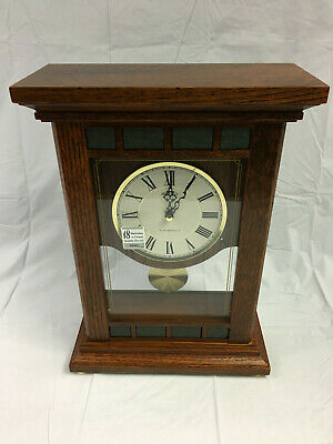 SEIKO QXW421BLH 18 Melody Melodies in Motion HI FI Wooden Mantle Clock