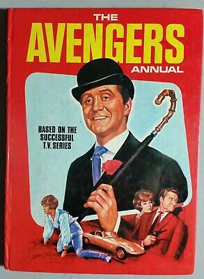 The Avengers 1960s TV series Annual. 1968