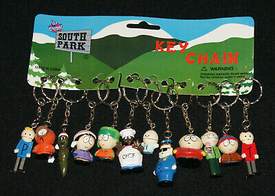 Comedy Central SOUTH PARK 12 Mini Figural Key Chains