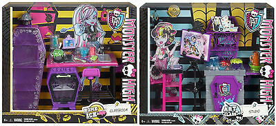 Monster High Playsets Home Ick Classroom Art Class Studio 2013 Retired Sets