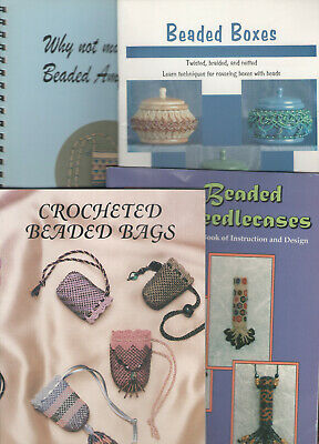 Beading Books x9, Jewellery, Accessories, Needlecases, Bags, Boxes, Purse