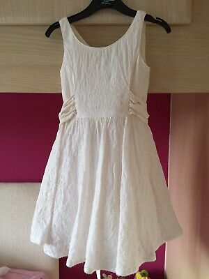 Ivory bridesmaid dress size 4yrs