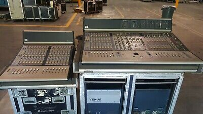Avid Digidesign VENUE D-Show Mixing System w/Sidecar, FOH/Stage Racks, Tour Case