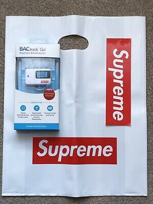 Supreme BACtrack Go Keychain White SS18 2018 alcohol breath analyser