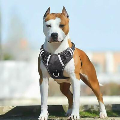 Big Dog Harness No Pull Adjustable Pet Reflective Oxford Soft Vest for Large