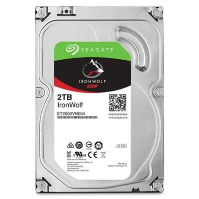"Seagate 2TB 3.5"" IronWolf NAS 5900RPM SATA3 6Gb/s 64MB HDD. 3 Years Warranty"