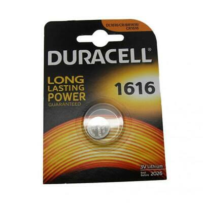 Duracell CR1616 3V Lithium Button Battery Coin Cell DL/CR/BR 1616 Expiry 2026
