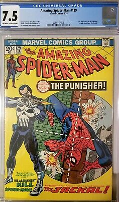 Amazing Spider-Man #129 CGC 7.5 1st Appearance of PUNISHER...BRIGHT COLORS