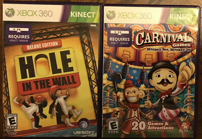 Carnival Games Monkey See, Monkey Do / Hole In The Wall: Deluxe Edition (Kinect)