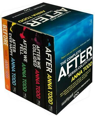 The Complete After Series Collection 5 Books Box Set by Anna Todd (After...