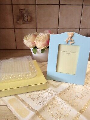 Baby Boy Blue Picture Frame 9x13cm BRAND NEW!