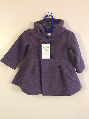 Vertbaudet Girls Winter Coat Age 2 Years Lilac