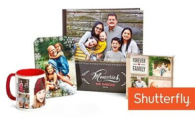 Shutterfly $25 off an order of $25 or more or 50% off  (CCDD)  Exp. 1/31/20
