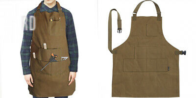 Case4Life Heavy Duty Water Resistant Waxed Canvas Apron Tool Workshop...