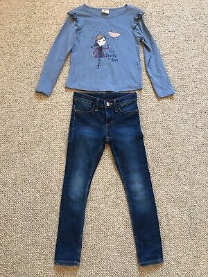 Girls Outfit ZY/H&M Age 4-5years