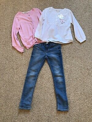 Girls Age 4-5 H&M And ZY Autum/Winter Outfit