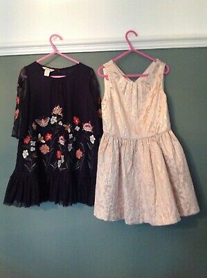 Monsoon And Marks And Spencer Autograph Dresses Age 5