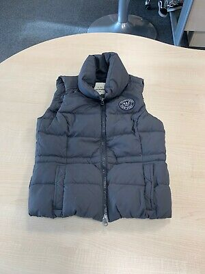 Abercrombie And Fitch Girls Grey Gillet Size Large