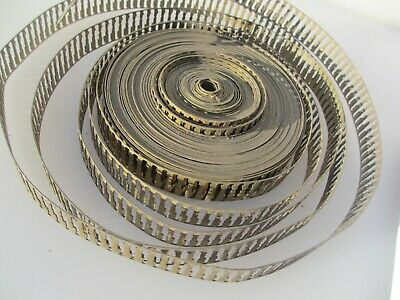 Antique Brass Ormolu Hardware Furniture Mounts Victorian Trim Strip Old Reel