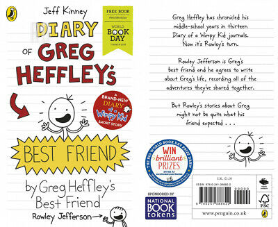 Diary of Greg Heffley's Best Friend: World Book Day 2019 (Diary a Wimpy...