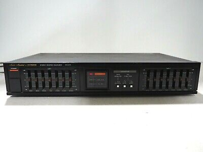 Fisher EQ-272 Stereo  Graphic Equalizer